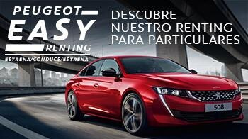 Peaugeot Easy Renting para particulares