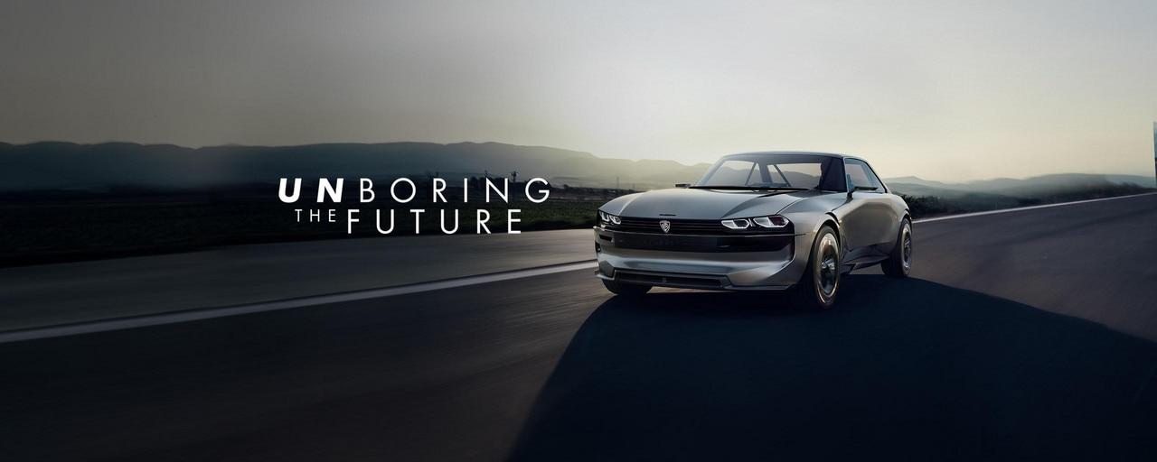 PEUGEOT e-LEGEND CONCEPT: el coche autónoma 100 % eléctrica y connectada. #UnboringTheFuture