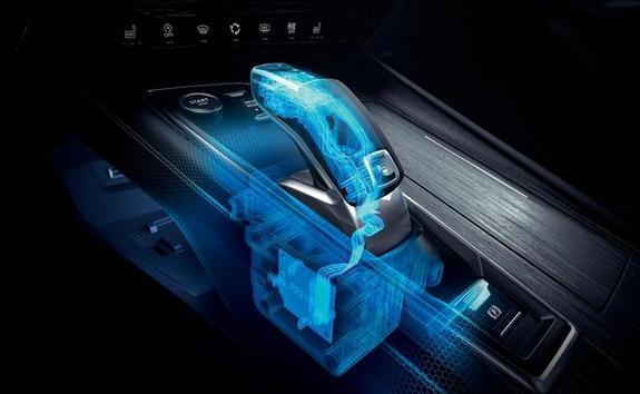 Nueva berlina PEUGEOT 508: caja de cambios automática EAT8 con control eléctrico de cambio de marchas Shift and Park by wire.