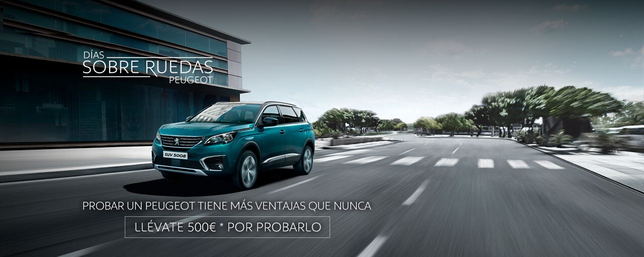 SUV Peugeot 5008 - Días sobre ruedas