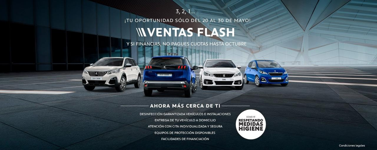 Peugeot España - Ventas Flash