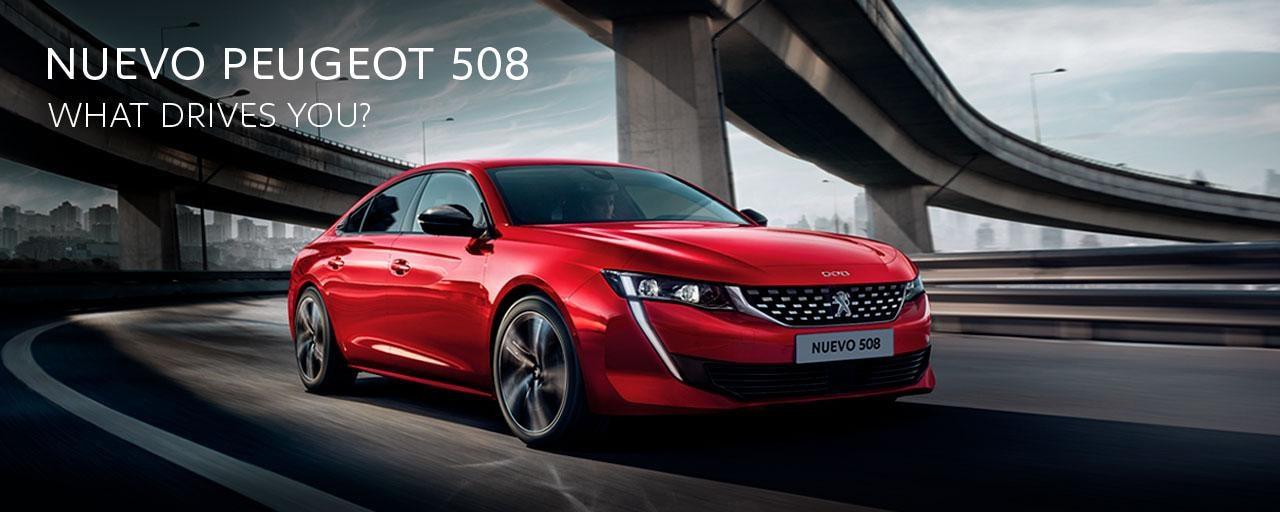 Mainbanner Nuevo Peugeot 508 Home Marzo