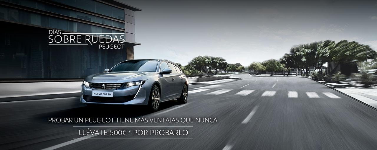 Nuevo Peugeot 508 SW - Días sobre ruedas