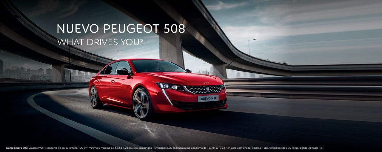 Mainbanner Nuevo Peugeot 508 Showroom Marzo
