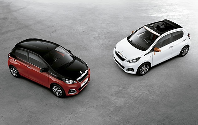 Peugeot 108 Dual Perso Colores Camino