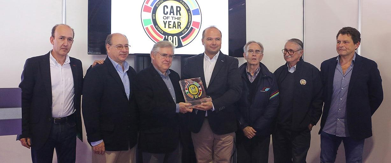 """El Peugeot 205, """"Golden Car of the Year""""2"""
