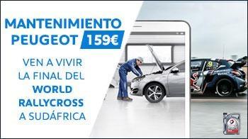 Mantenimiento Peugeot World Rallycross