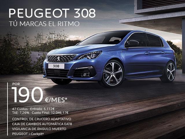 Oferta Peugeot 308 5 Puertas Cuota Abril