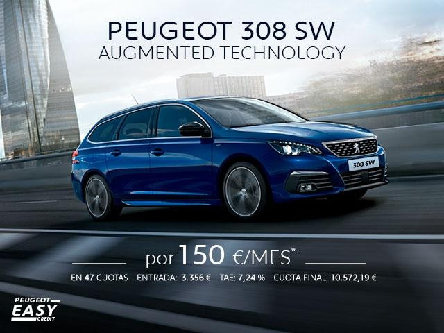 Oferta Peugeot 308 SW Cuota Abril