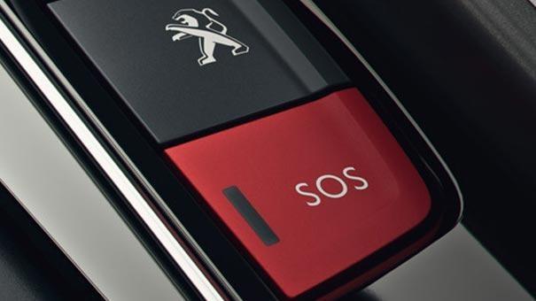 Peugeot Connect SOS Assistance 5008