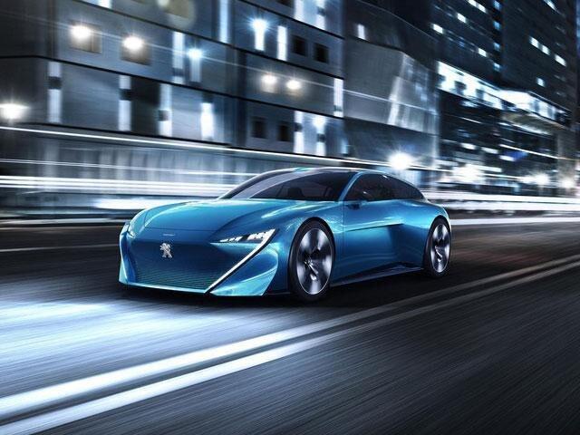 Peugeot Instinct - Concept car
