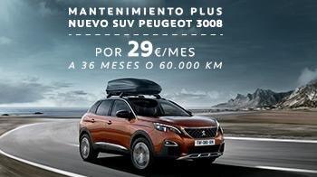 Peugeot 3008 mantenimiento plus