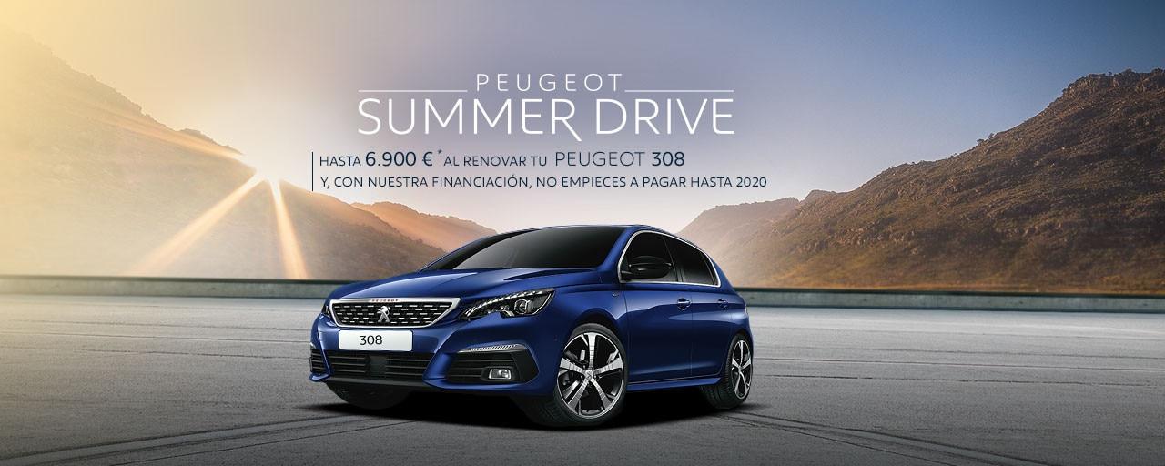 Peugeot 308 Berlina - Summer Drive