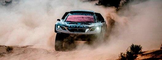 Carlos Sainz, segundo en el Rally de Marruecos