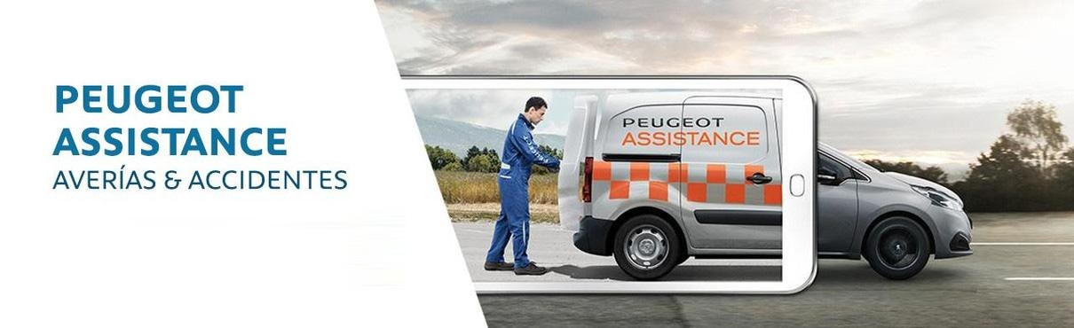 Peugeot Assistance averias accidentes 2019