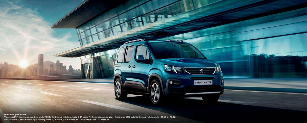 Nuevo Peugeot Rifter Empresas WLTP
