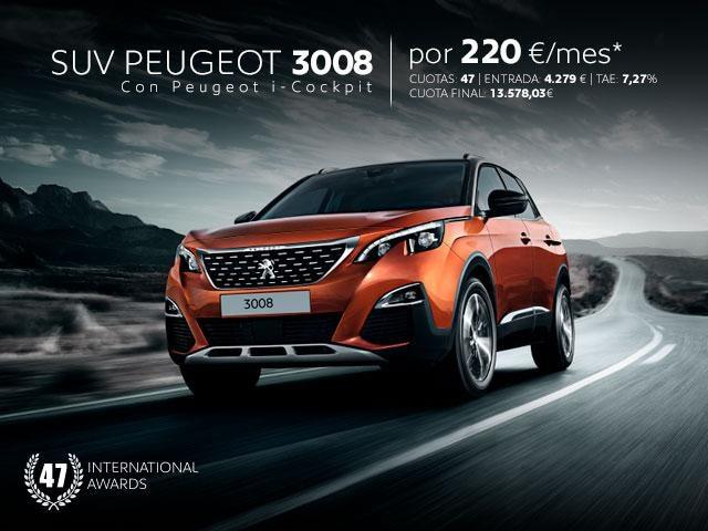 Promo SUV Peugeot 3008