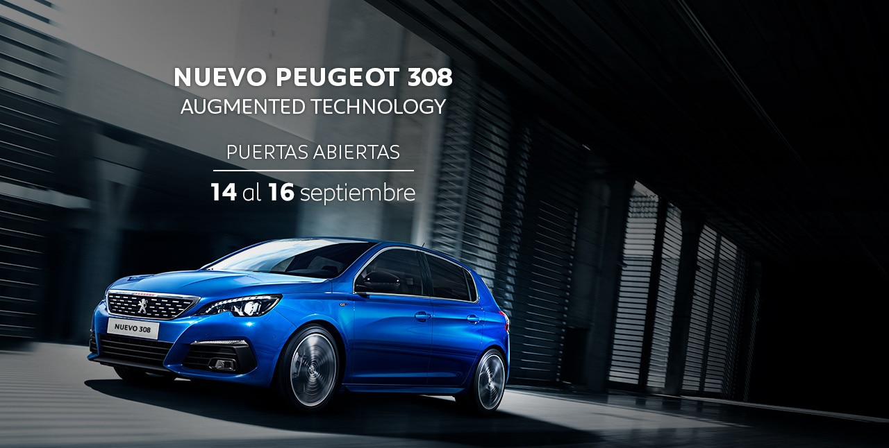 nuevo peugeot 308 descubre el hatchback compacto de peugeot. Black Bedroom Furniture Sets. Home Design Ideas