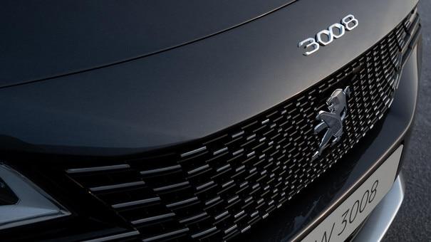 Nuevo SUV PEUGEOT 3008 - Nueva calandra sin marco