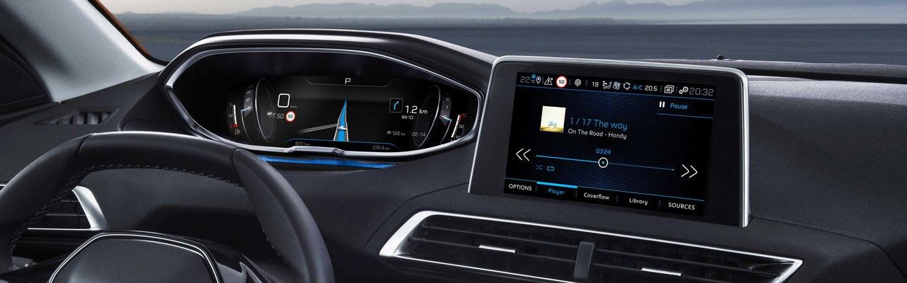 Peugeot Cockpit Tecnología