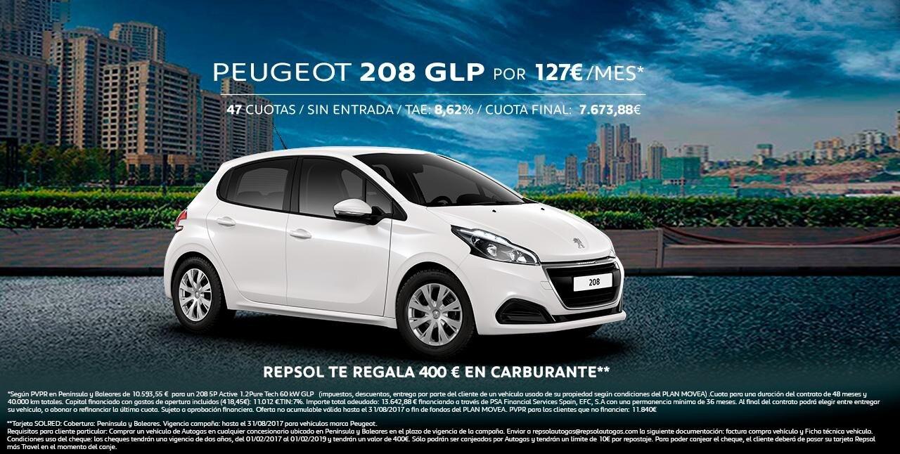 Peugeot 208 GLP
