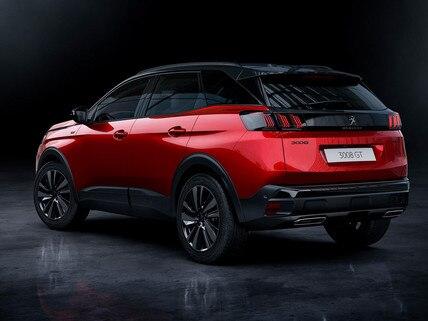 Nuevo SUV PEUGEOT 3008 – Opción Black Pack vista trasera