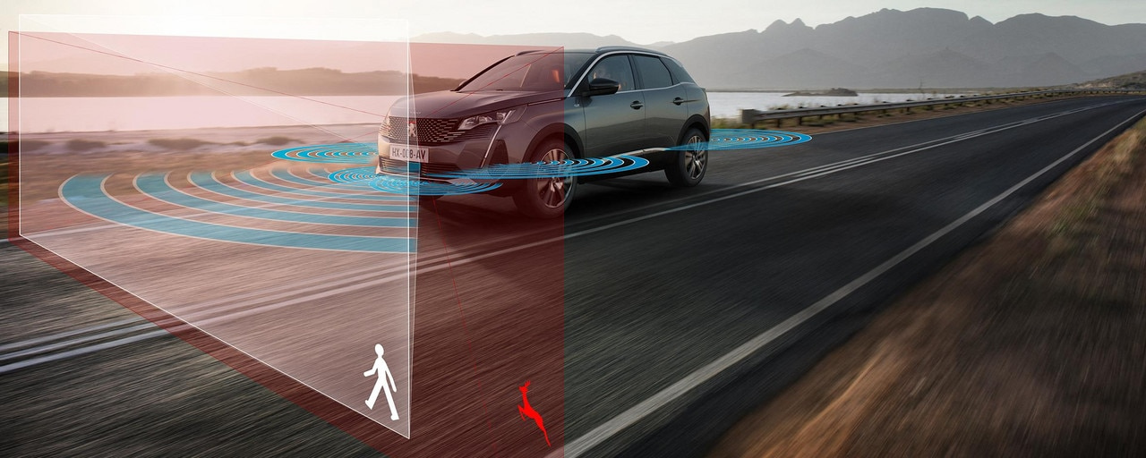 Nuevo SUV PEUGEOT 3008 - Ayudas a la conducción de última generación