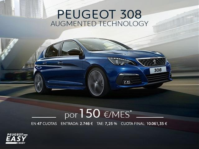 Promo Peugeot 308 Augmented Technology