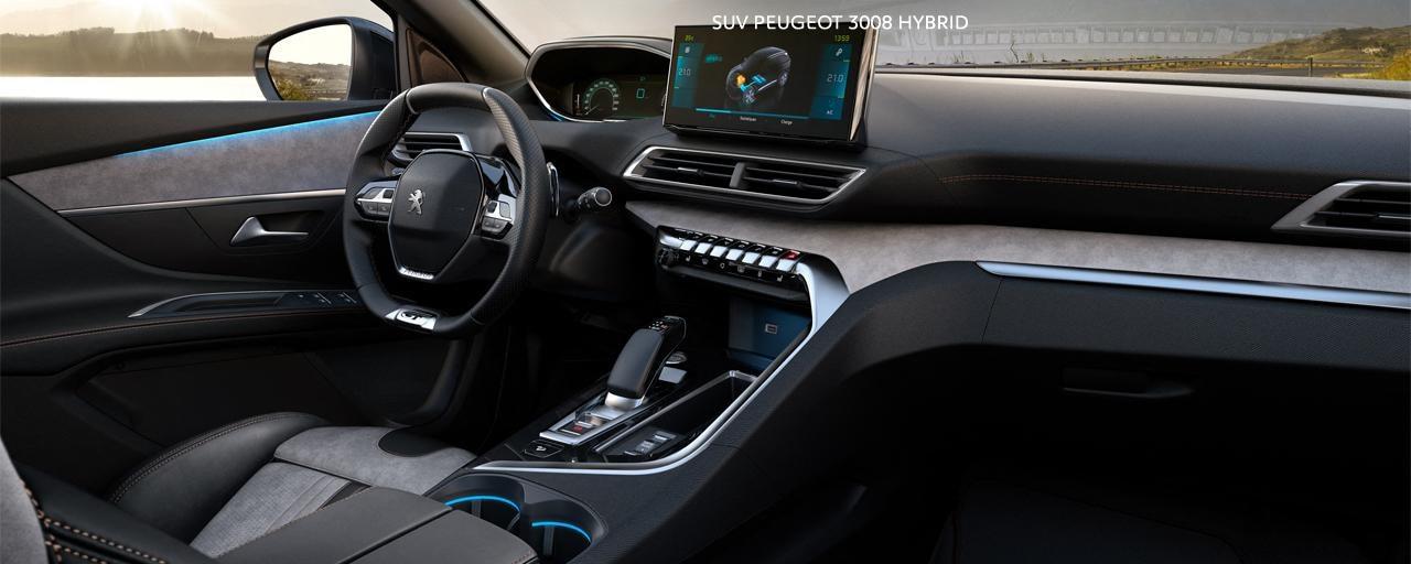 Nuevo SUV PEUGEOT 3008 híbrido -  Gran interior híbrido