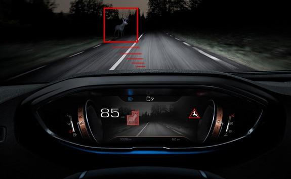 Nuevo SUV PEUGEOT 3008 – Ayuda a la conducción Night Vision