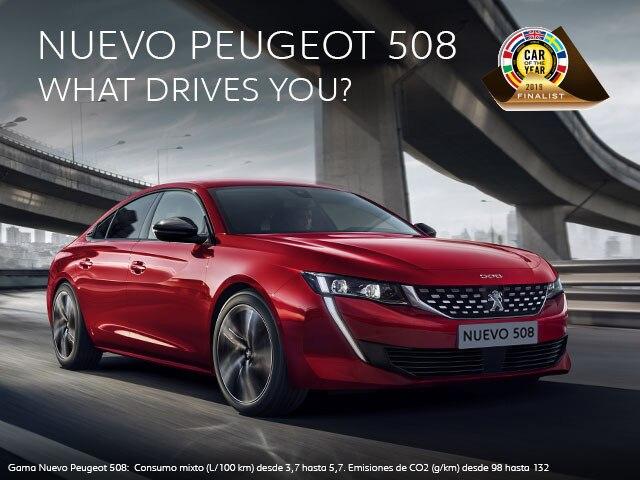Nuevo Peugeot 508 Premio Coty