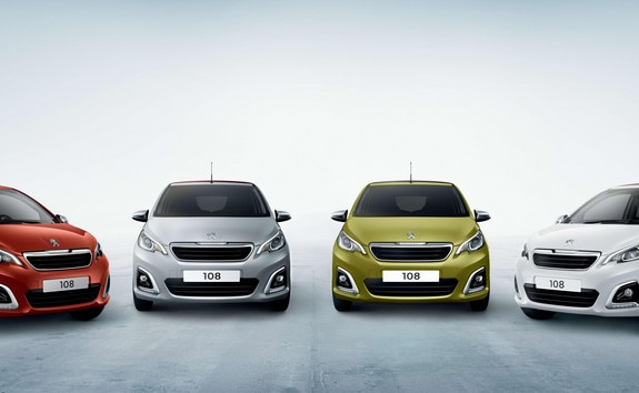 PEUGEOT 108 – Serie especial Collection