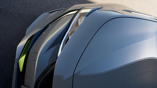 Nuevo 508 PEUGEOT SPORT ENGINEERED: grandes tomas de aire específicas realzadas por su color Kryptonite