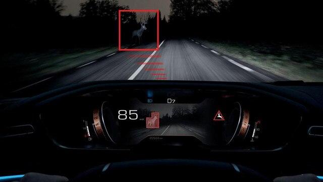 Tecnología Night Vision, para mejorar la visión nocturna - nuevo familiar PEUGEOT 508 SW FIRST EDITION