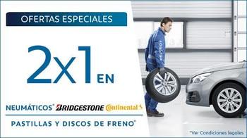 Promo Posventa 2x1 Neumáticos y Discos de freno Mayo