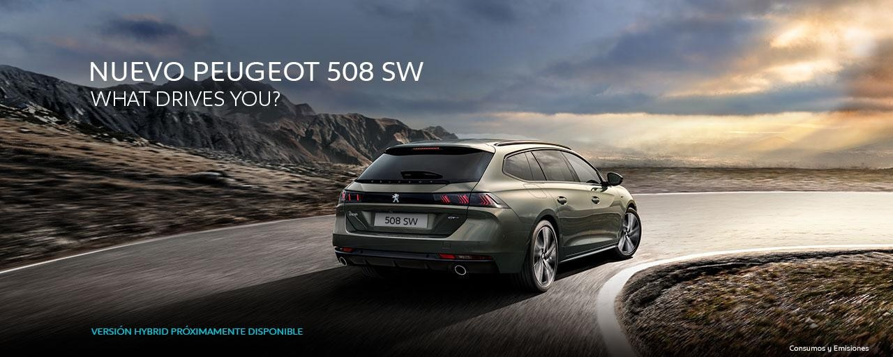 Nuevo Peugeot 508 SW - What Drives You?