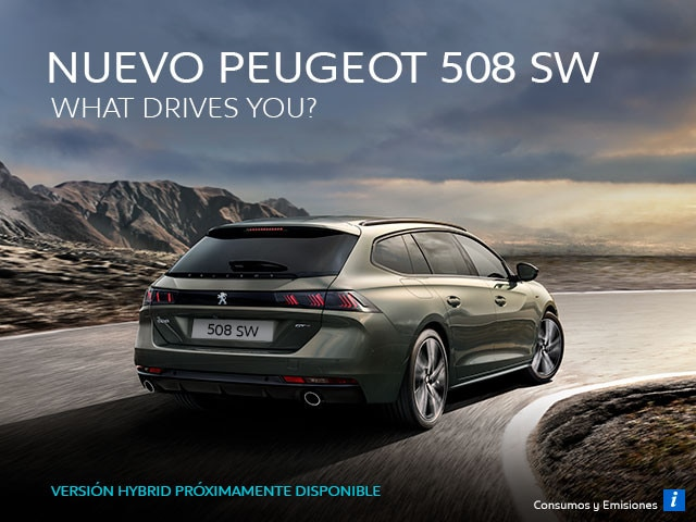 Nuevo Peugeot 508 SW: What Drives You?