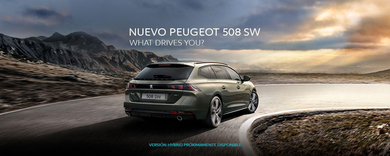 Mainbanner Nuevo Peugeot 508 SW - What Drives You?