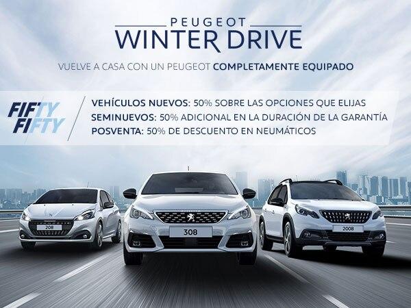 Oferta Peugeot Winter Drive B2C