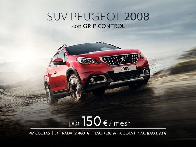 Oferta SUV Peugeot 2008 con Grip Control
