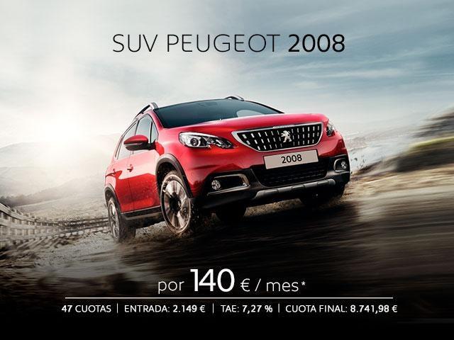 SUV PEUGEOT 2008 OFERTA