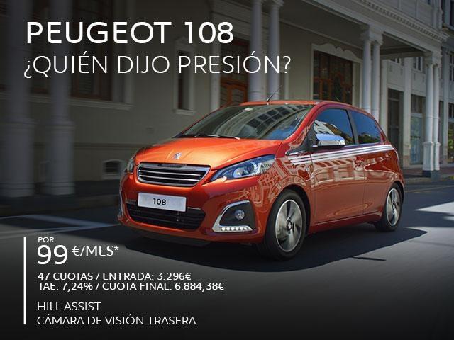 Oferta Peugeot 108 Abril