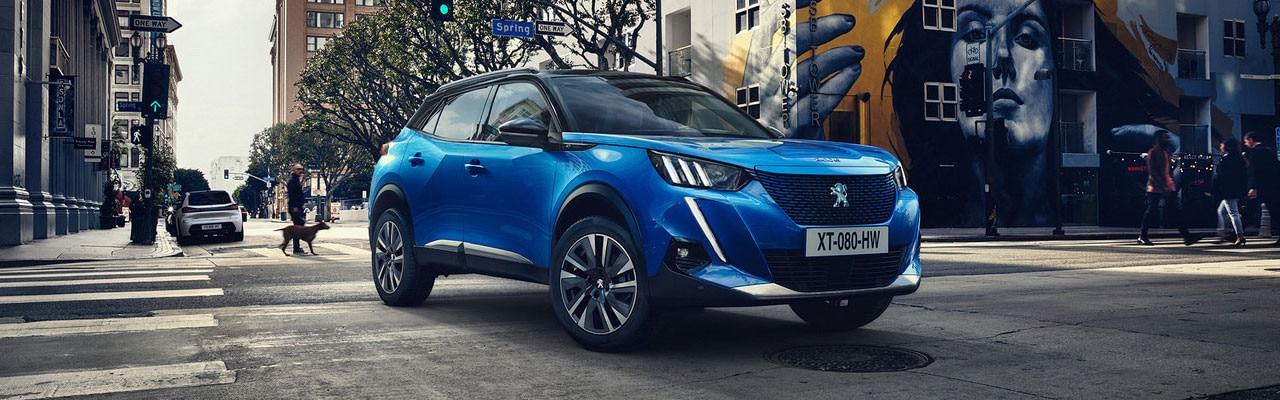 Nuevo SUV Peugeot e-2008 - El SUV 100% eléctrico
