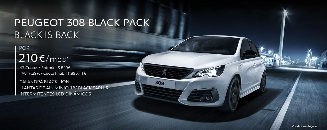 Peugeot 308 Black Pack - Black is Back