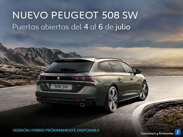 Nuevo Peugeot 508 SW Puertas Abiertas del 4 al 6 de julio