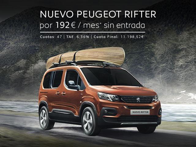 Nuevo Peugeot Rifter Promo Abril