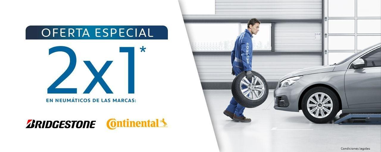 Oferta especial 2x1 Neumáticos