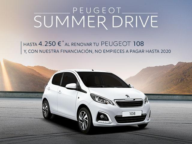 Oferta Peugeot 108 - Summer Drive