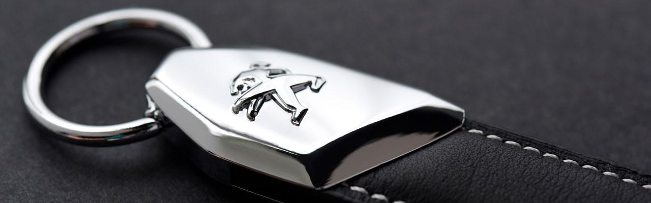Llavero Peugeot: lo último en materiales y tecnología