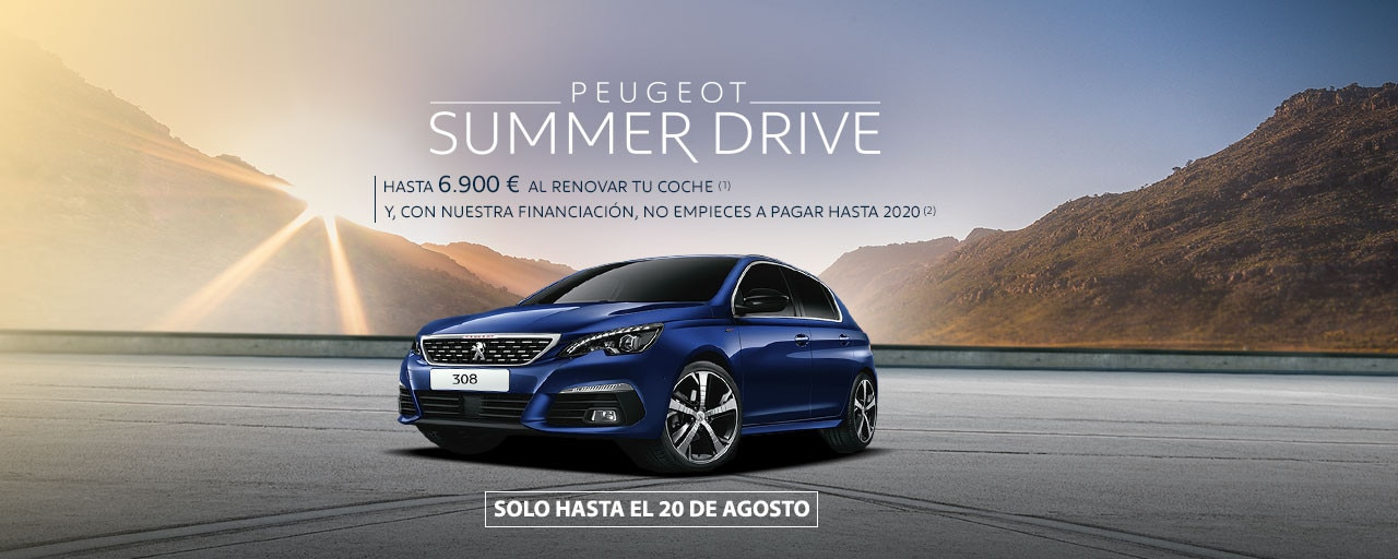 Peugeot 308 summer drive agosto